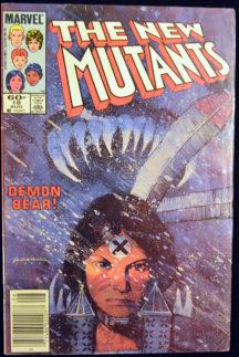 Primul Warlock New Mutants benzi desenate vechi
