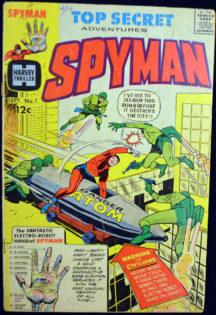 Spyman Steranko benzi desenate vechi