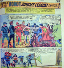 Justice LEague of America dc comics benzi desenate