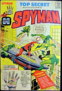 Harvey spyman originea benzi desenate vechi Steranko