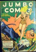 Sheena Jumbo Comics benzi desenate gold age