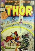 Journey into Mystery Thor benzi desenate comics vintage