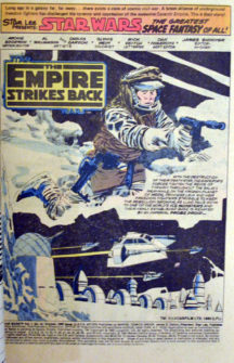 Star Wars comics benzi desenate din America SUA