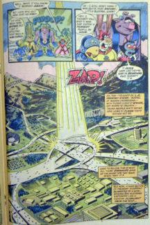 captain carrot benzi desenate vechi dc comics superman