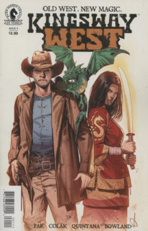 Kingsway West dark horse benzi desenate noi semnate