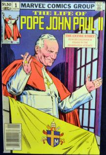 Papa Ioan Paul al Doilea benzi desenate marvel