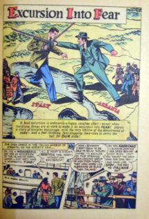 banda desenata golden age spy-hunters al doilea razboi comics