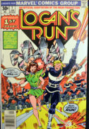 Logan Run benzi desenate Marvel comics Jessica