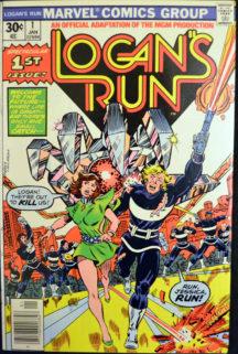Logan Run benzi desenate Marvel comics Jessica