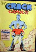 Captain Triumph al doilea razboi mondial Crack Comics Golden Age