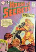 House of secrets dc silver age battle of titans