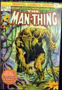 Man-Thing origine benzi desenate vechi silver age duck