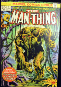 Man-Thing origine benzi desenate vechi silver age duck