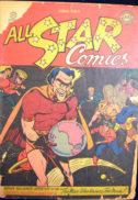 Flash Green Lantern Golden Age comics Justice Society America