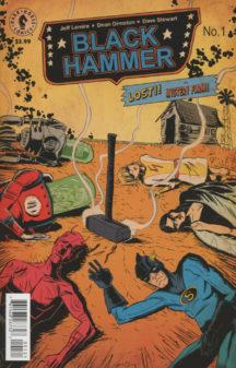 Black Hammer Lemire benzi desenate Dark Horse