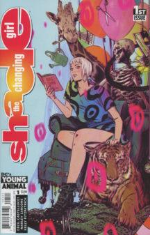 DC Comics Shade changing girl benzi desenate noi