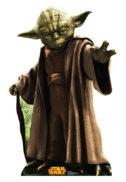 Yoda star wars cardboard carton marime reala