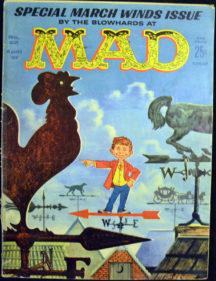 benzi desenate satira Mad silver age