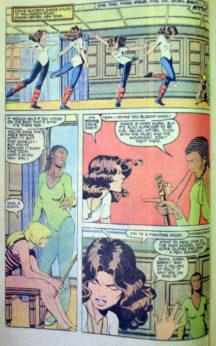 Xavier Kitty Pride Marvel X-Men Uncanny comics vechi