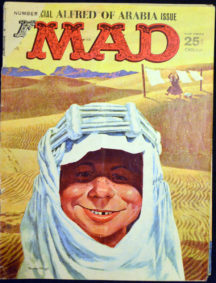 Parodii benzi desenate MAD MC silver age vechi