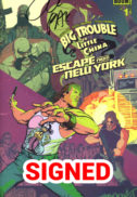 Big trouble little china benzi desenate semnate noi greg Pak