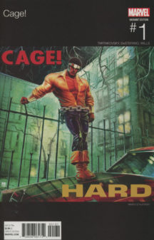 Cage Marvel benzi desenate negru