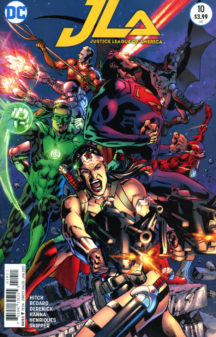 Justice League America benzi desenate noi dc comics
