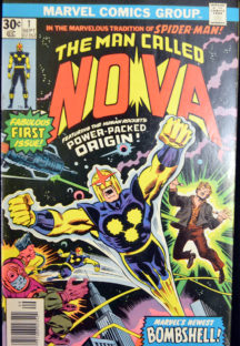 Man Called Nova benzi desenate vechi marvel