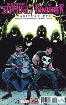 Doctor Strange punisher magic bullets marvel comics
