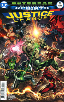 Cyborg Justice League benzi desenate noi Dc Comics