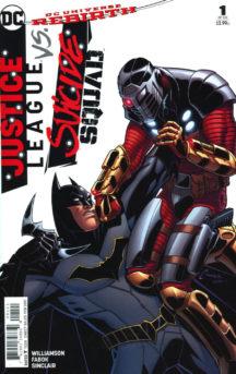 Justice League vs Suicide Squad benzi desenate noi