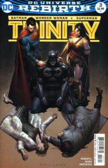 Trinity DC Comics rebirth benzi desenate noi