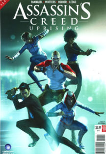 Assassin's Creed Uprising benzi Titan Comics
