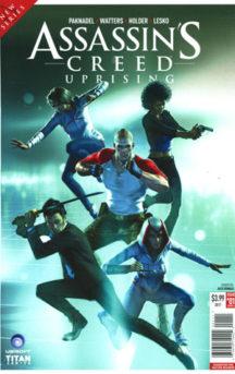 Assassin's Creed Uprising benzi Titan Comics