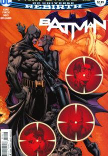 Batman catwoman benzi desenate noi dc comics rebirth