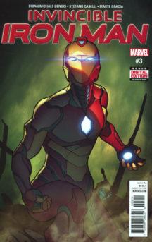 marvel benzi desenate noi Iron Man Invincible