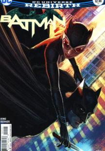 Catwoman benzi dc comics rebirth