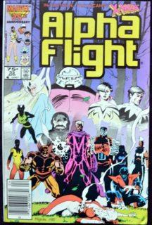 alpha flight x-men prima aparitie