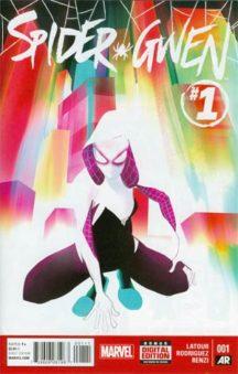 Spider-gwen 1 marvel comics benzi desenate