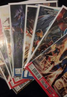 Avengers serie completa benzi desenate noi Marvel