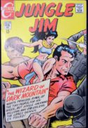 Jungle Jim 22 benzi desenate Charlton Comics