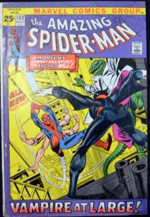 Morbius Spider-Man Vampir benzi desenate comics Marvel