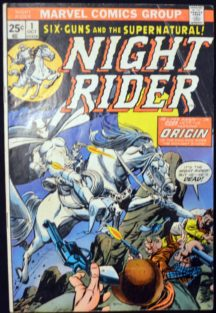 Night Rider benzi desenate Stan Lee