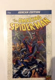 Mini comic amazing spider-man marvel Romania