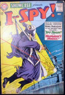 Showcase I spy benzi desenate vechi Silver Age I Spy