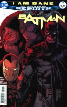Batman DC Comics Bane rebirth benzi desenate noi