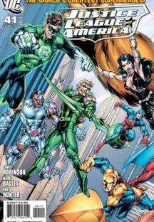 Justice League America DC Comics Green lantern