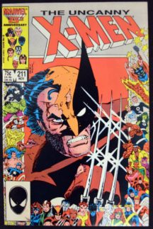 Uncanny X-Men Cover Wolverine benzi desenate comics