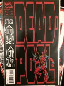 Deadpool circle chase benzi desenate cheie hot