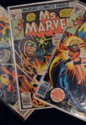 Vision Ms. Marvel benzi desenate vechi